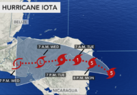 Category 5 Hurricane Iota forecast to deliver catastrophic blow to Central America