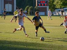 Boys Soccer: Cary Christian vs. GRACE Christian (Oct. 1, 2020)
