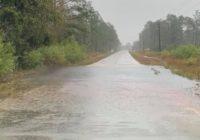 Heavy rain causing flooding, closures on roads in Brunswick County