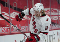 Hurricanes open with 3-0 win over rebuilding Red Wings