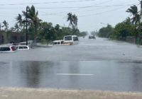 Cyclone weakens in central Mozambique, but flooding a threat