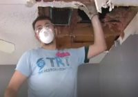 Volunteers help clean homes damaged by winter storm