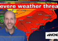 Severe weather expected Thursday in the Carolinas