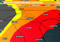 Severe weather expected across the Charlotte area Thursday
