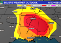 Severe weather threat increases across the south