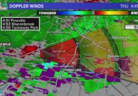 Tornado Warning issued for Mecklenburg, Cabarrus counties