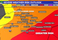 Panovich: 'Good news and bad news' as severe weather threat decreases for Charlotte