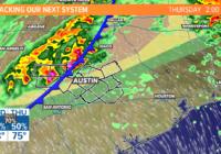 Live radar: Tornado Watch issued for Mason, Llano, Burnet counties until 10 p.m.
