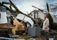 Alabama woman survived tornado while clinging to tree outside her home