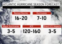 'Average' hurricane season now includes more storms, NOAA says