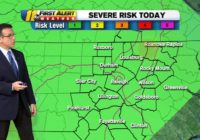 Parts of North Carolina under severe weather risk late Saturday night as line of showers moves in