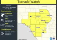 Tornado Watch issued as storms develop around San Antonio area
