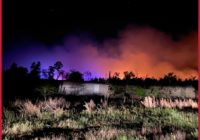 Evacuations lifted as firefighters battle Bastrop County wildfire