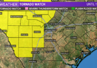SEVERE WEATHER: Tornado Watch in effect for parts of South Texas until 11 p.m.