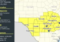 Tornado Watch In Effect For The Austin Area Until 5 A.M. Thursday