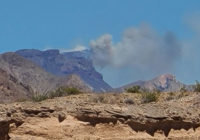 West Texas wildfire now blazing over 250 acres of Big Bend National Park