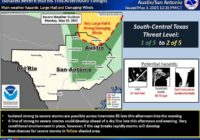 San Antonio area could see another night of severe weather