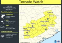 San Antonio now under a tornado watch as severe storms roll through the area