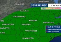 Mother's Day sunshine gives way to potential severe weather Monday