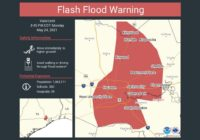 Flash Flood Warning Issued For Harris County