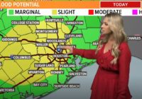 More heavy rain on the way: Flash Flood Watch continues until 7 p.m. tonight