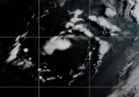 Ana now a tropical storm as it moves away from Bermuda