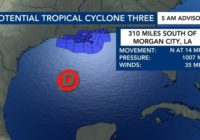 Tropical Storm Claudette likely to form Friday, would bring rain to NC