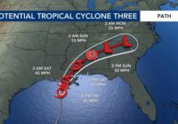 Tropical Storm Claudette forms in Gulf of Mexico, could bring tropical remnants to North Carolina