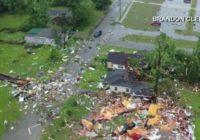 Tornado spawned by Claudette tears through Alabama community
