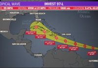 Tropics update: Potential Tropical Cyclone Five could become a tropical storm overnight or tomorrow