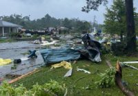 Suspected tornado causes major damage to 50 homes, school in small Alabama town