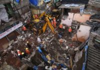Building collapse kills 11 after monsoon flooding in Mumbai