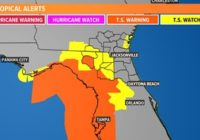5 a.m. Update | Latest Tropical Storm Elsa projected path, models, and potential impact to First Coast