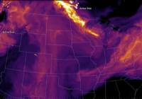 Massive western wildfires cloud East Coast in haze, bring smoke to North Carolina