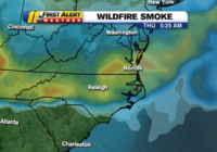 Smoke from raging West Coast wildfires causes Code Orange air quality alert in North Carolina