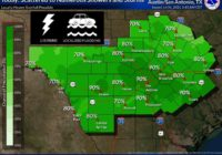 Showers, thunderstorms to continue in San Antonio with flooding in some areas