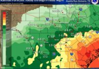 Southeast counties near San Antonio under flash flood watch through Friday