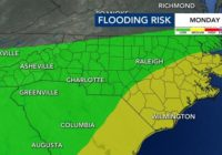 Flood advisory in effect west of the Triangle