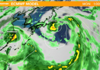 Tokyo may get hit by a typhoon (hurricane) during the Olympics