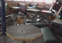 Comfort Cafe suffers major damage from this morning's flooding rain