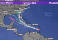 Tropics update: Hurricane Elsa strengthens  | View forecast track
