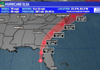 Elsa weakens to tropical storm as it approaches Florida's Gulf Coast