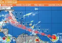 Tropics: Tropical Storm Elsa forms in the Atlantic; headed into the Caribbean by Friday