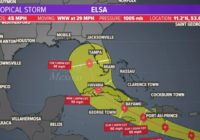 Tropical storm update: Elsa moves through the Atlantic | View latest forecast