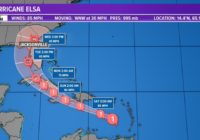 Hurricane Elsa: Latest projected path, models and potential impact to First Coast