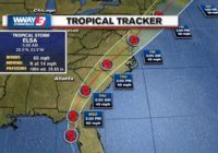 Cape Fear region starting to feel early impacts of Tropical Storm Elsa