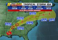 NC Weather: Remnants of Hurricane Ida to bring rain to North Carolina on Wednesday