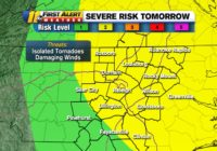 NC Weather: Remnants of Hurricane Ida to bring rain, severe storms to North Carolina on Wednesday