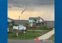 Confirmed tornado over Crystal Beach, NWS says