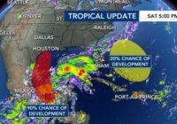 Tropical Storm Nicholas forms, threatens Texas, Louisiana with heavy rain